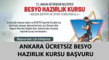 Ankara Ücretsiz BESYO Hazırlık Kursu 2021