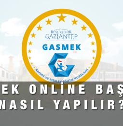 GASMEK Kursları Online Başvuru Formu