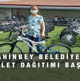 Şahinbey Belediyesi Bisiklet Dağıtımı Başvuru 2021