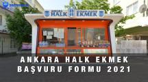 Ankara Halk Ekmek Büfesi Bayilik Başvuru Formu 2021