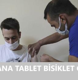 Şanlıurfa Aşı Olana Tablet Bisiklet Çekilişi Başvuru