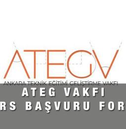 ATEG Vakfı Burs Başvuru Formu 2021 – 2022