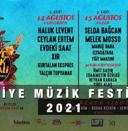 Fethiye Müzik Festivali 2021