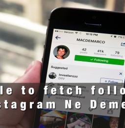 Unable to fetch followers Instagram Ne Demek?