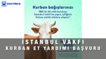 İstanbul İBB Vakfı Kurban Bağışı Yardım Başvurusu Yapma