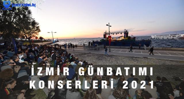 İzmir Günbatımı Konserleri 2021