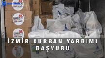 İzmir Kurban Yardımı Başvuru Formu 2021