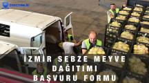 İzmir Ücretsiz Sebze Meyve Dağıtımı Başvuru