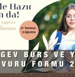 TÜRGEV Burs ve Yurt Başvuru Formu 2021