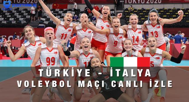 Türkiye – İtalya Voleybol Maçı TRT Spor Canlı İzle – 27 Temmuz 2021