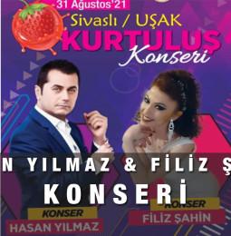 Hasan Yılmaz & Filiz Şahin Konseri – 31 Ağustos 2021