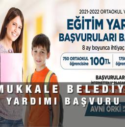 Pamukkale Belediyesi Eğitim Yardımı Burs Başvuru Formu 2021