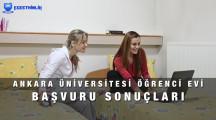 Ankara Üniversitesi Öğrenci Evleri Başvuru Sonuçları 2021