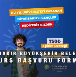 Diyarbakır Büyükşehir Belediyesi Burs Başvuru Formu 2021