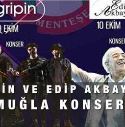 Gripin ve Edip Akbayram Muğla Konseri