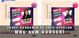 Ekin Uzunlar ve Tuğçe Kandemir MNG AVM Konseri