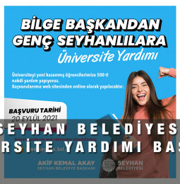Seyhan Belediyesi Üniversite Yardımı Başvuru Formu