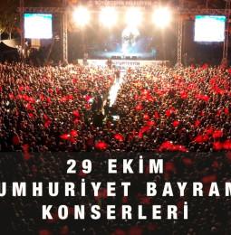 29 Ekim Cumhuriyet Bayramı Konserleri 2021