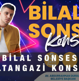 Bilal Sonses Sultangazi Konseri – 3 Ekim 2021
