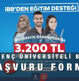 İBB Genç Üniversiteli Bursu Başvuru Formu 2021