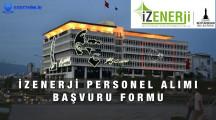 İZENERJİ Personel Alımı İş Başvuru Formu
