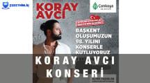 Koray Avcı Ankara Konseri – 9 Ekim 2021