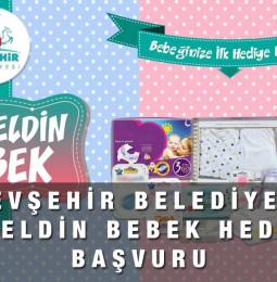 Nevşehir Belediyesi Hoşgeldin Bebek Hediyesi Başvuru Formu